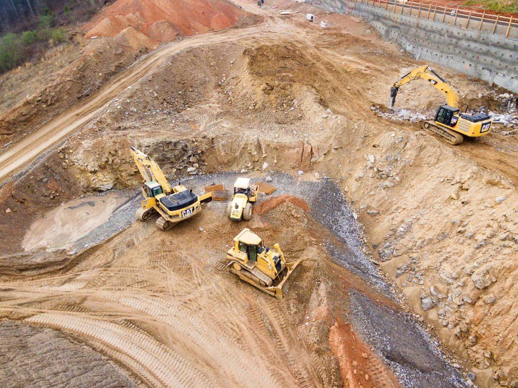 Construction site plant operator jobs