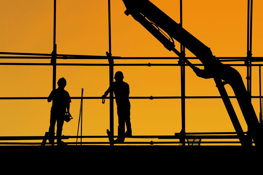 The different types of construction jobs are: