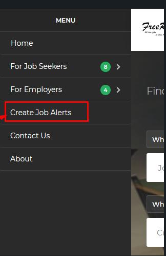 Get free job mail alerts