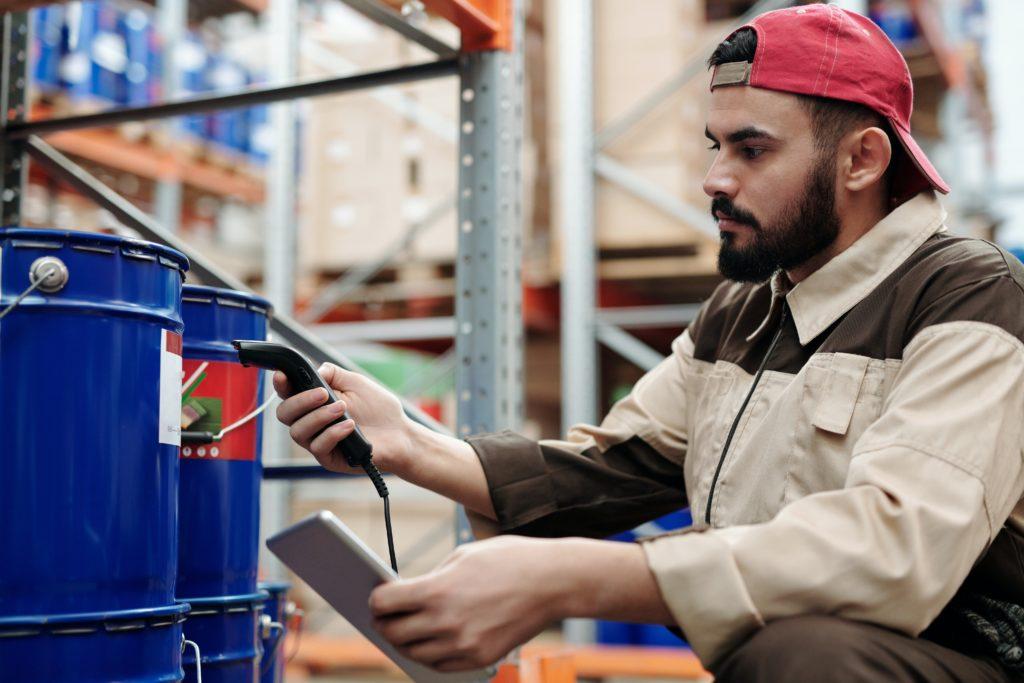Warehouse receiving clerk